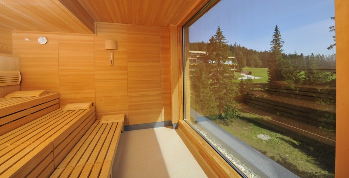Sauna im Ladies Spa im Hotel & Wellness Refugium Das Kranzbach in Bayern